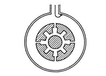 Принцип устройства коаксиального магнетрона