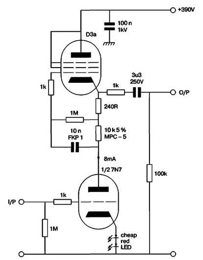 Схема проверки линейности μ-