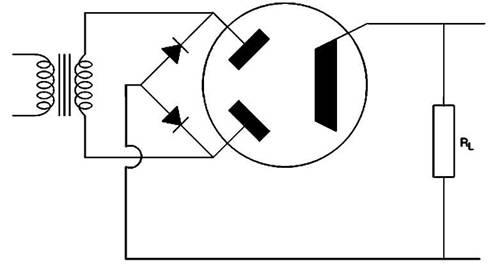 Схема выпрямителя с